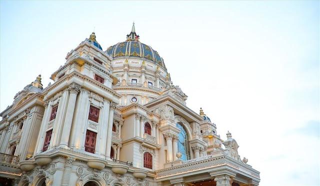 Cung điện nguy nga 1.000 tỷ của ông Đỗ Văn Tiến - một đại gia ở Ninh Binh