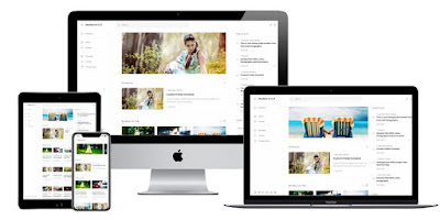 Giao diện ui trung bình v1.5 Blogger Template Free Download