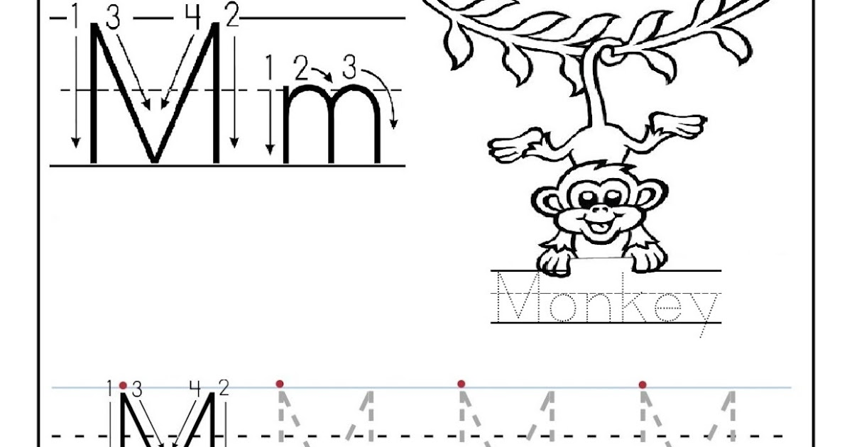 free printable worksheet letter m for your child to learn and write didi coloring page. Black Bedroom Furniture Sets. Home Design Ideas