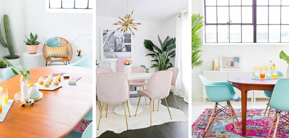 estilo decoracion colorido gamas de colores pastel