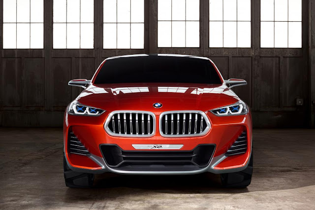 BMW X2 spy shots