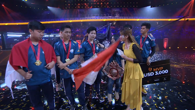 Evos Legends Indonesia Juara Piala M1 World Championship MLBB 2019
