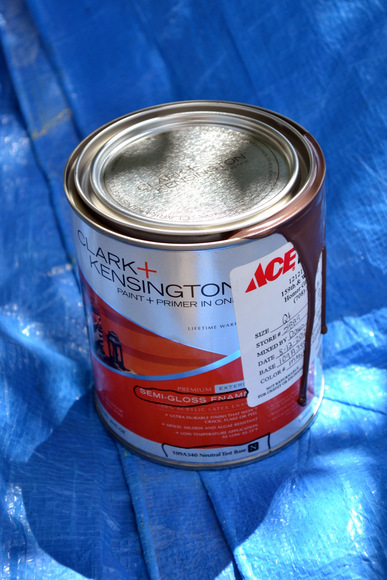 Clark and Kensington Paint in Bark Brown