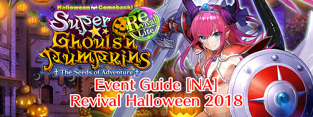 Event Guide: Revival Halloween 2018 (FGO NA)