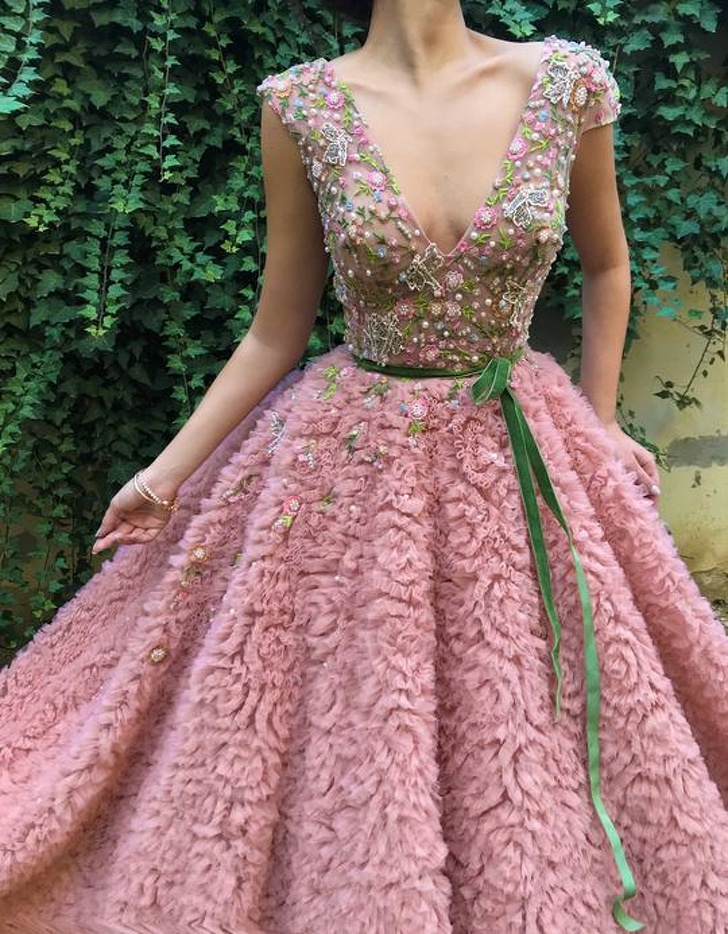 A Designer Makes Gorgeous Dresses Any Woman Would Fall For