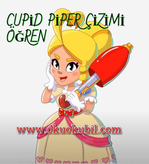 Cupid Piper, Aşk Tanrısı Piper Boyama Sayfası İle Çizim Öğren Yeni 2020