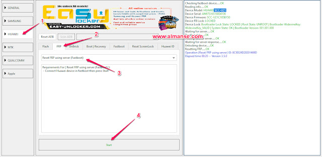 remove frp Huawei Y6 SCC-U21