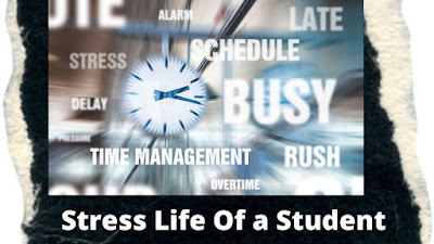 Stress Time table of a student