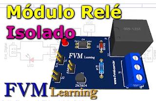 Como fazer um Módulo Relé para dispositivos digitais como; ESP8266, Arduíno, PIC Etc.