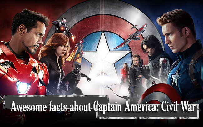 Awesome facts about Captain America: Civil War