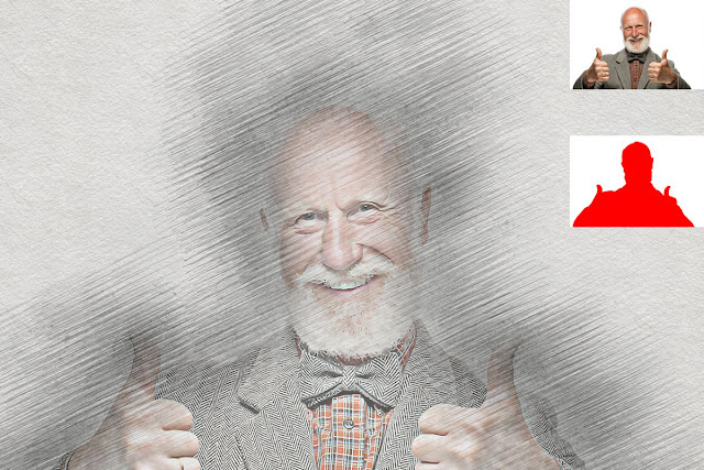 Sketch Art Photoshop Action 5244322