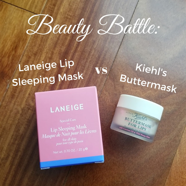 Laneige Lip Sleeping Mask vs Kiehl's Buttermask