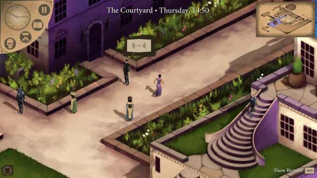 The game Elsinore for PC is an exciting adventure, the storyline of which is built on the famous work of Shakespeare.