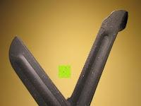 """Schneide: Kinesiologie Tape Schere """"TheBlackCut"""" Spezialschere zum Schneiden von Physio-Tapes, schwarz"""