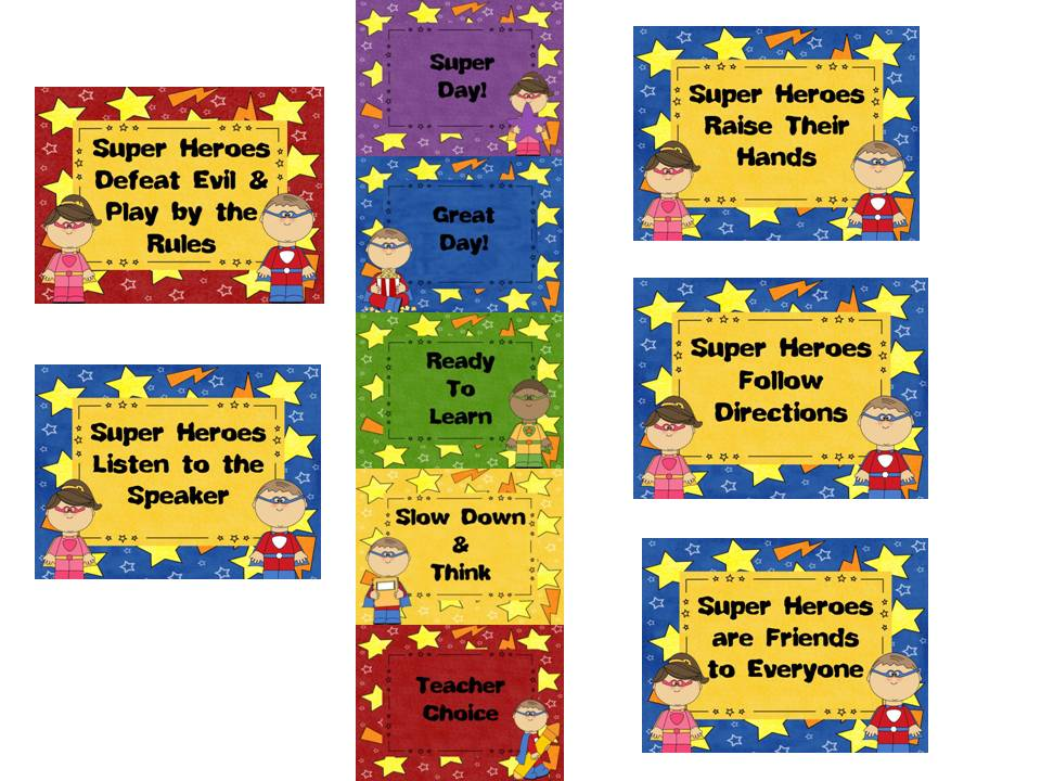 Diary of a Not So Wimpy Teacher: Super Hero Classroom Theme!