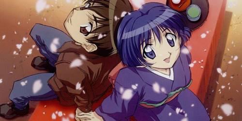 Aoi Sakuraba dan Kaoru Hanabishi (Bluer Than Indigo)