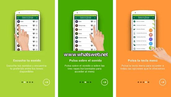 Sonidos y Tonos para WhatsApp