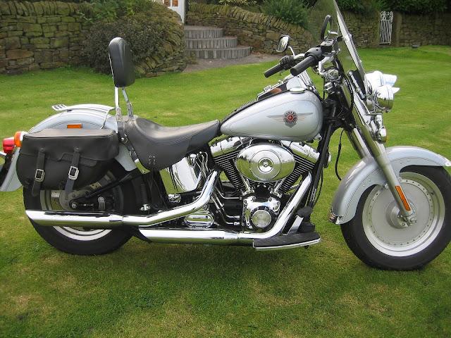 Harley Davidson Bike Garden Image