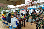 Satgas Indo RDB Terima Inspeksi Tim OEI MONUSCO di Kongo