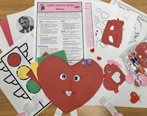 February early literacy to go kit