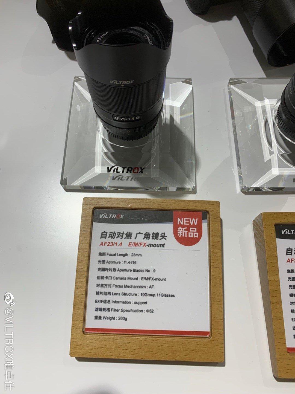 Объектив Viltrox 23mm f/1.4
