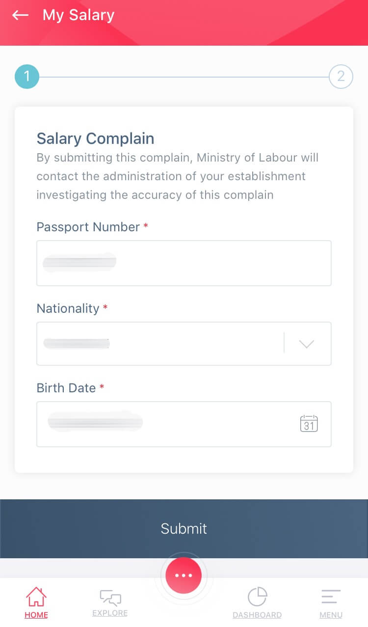 How to register labour complaint in uae