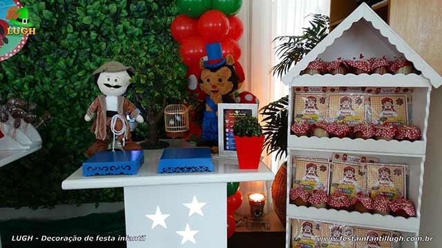Decoração festa Chapeuzinho Vermelho