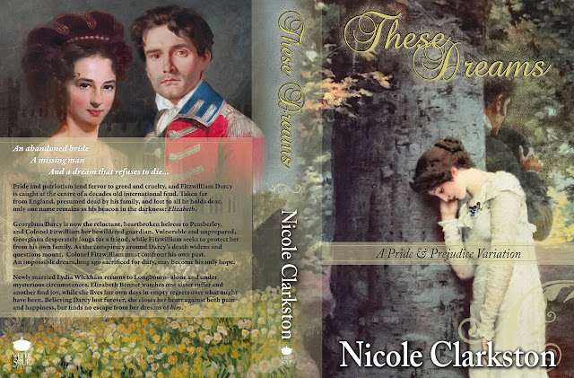Full Book Cover - These Dreams by Nicole Clarkston