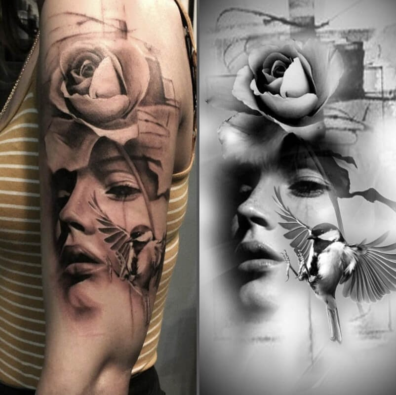 05-Glen-Preece-Paintings-and-tattoos-Side-by-Side-www-designstack-co