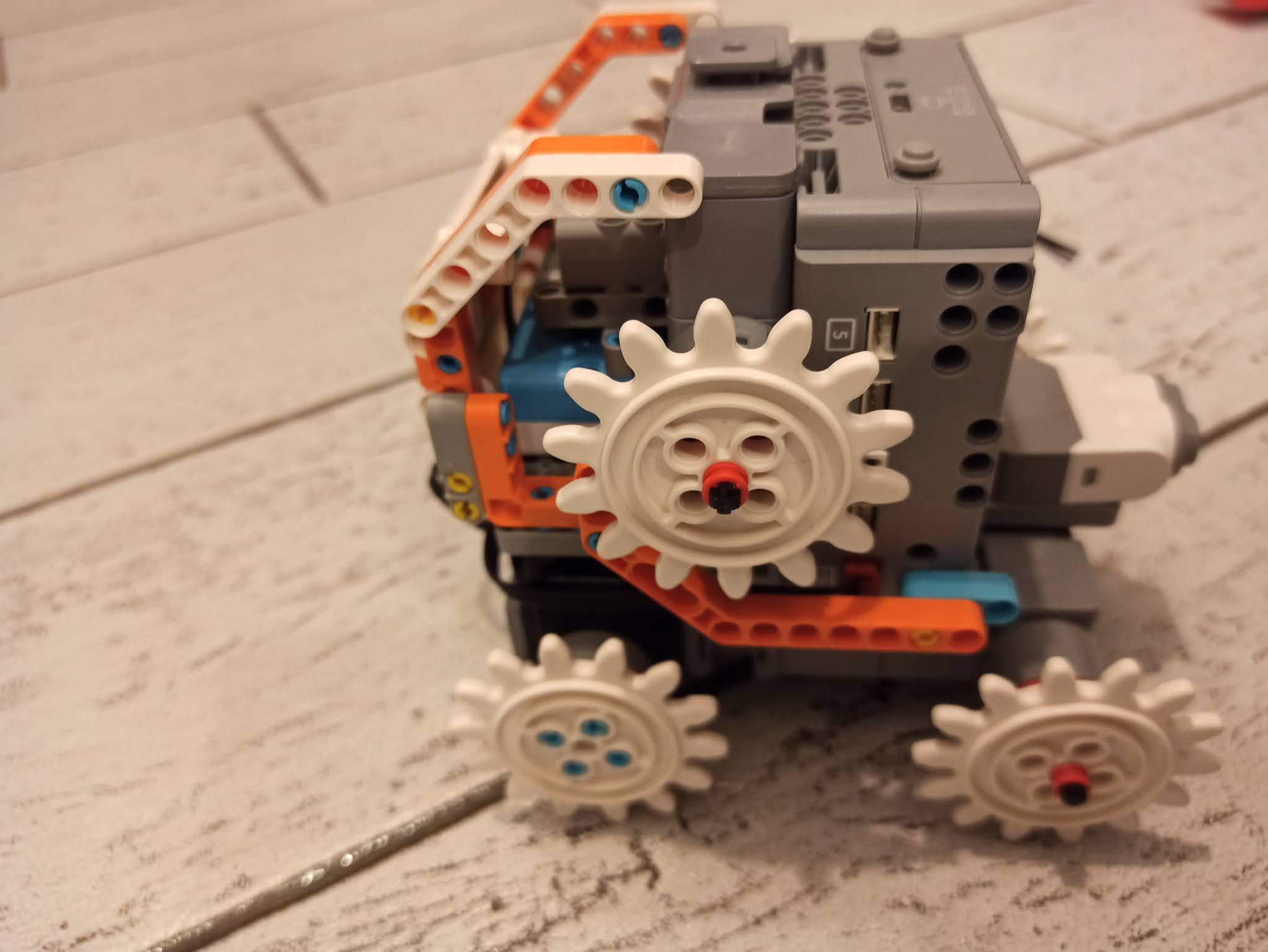 Astrobot - jak złożyć jimu