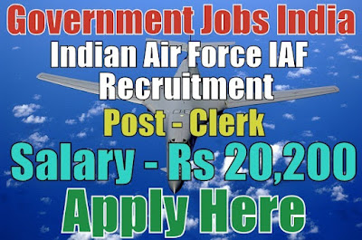 Indian Air Force IAF Recruitment 2017 Apply Here