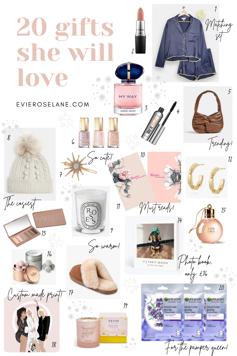 20 gifts for her