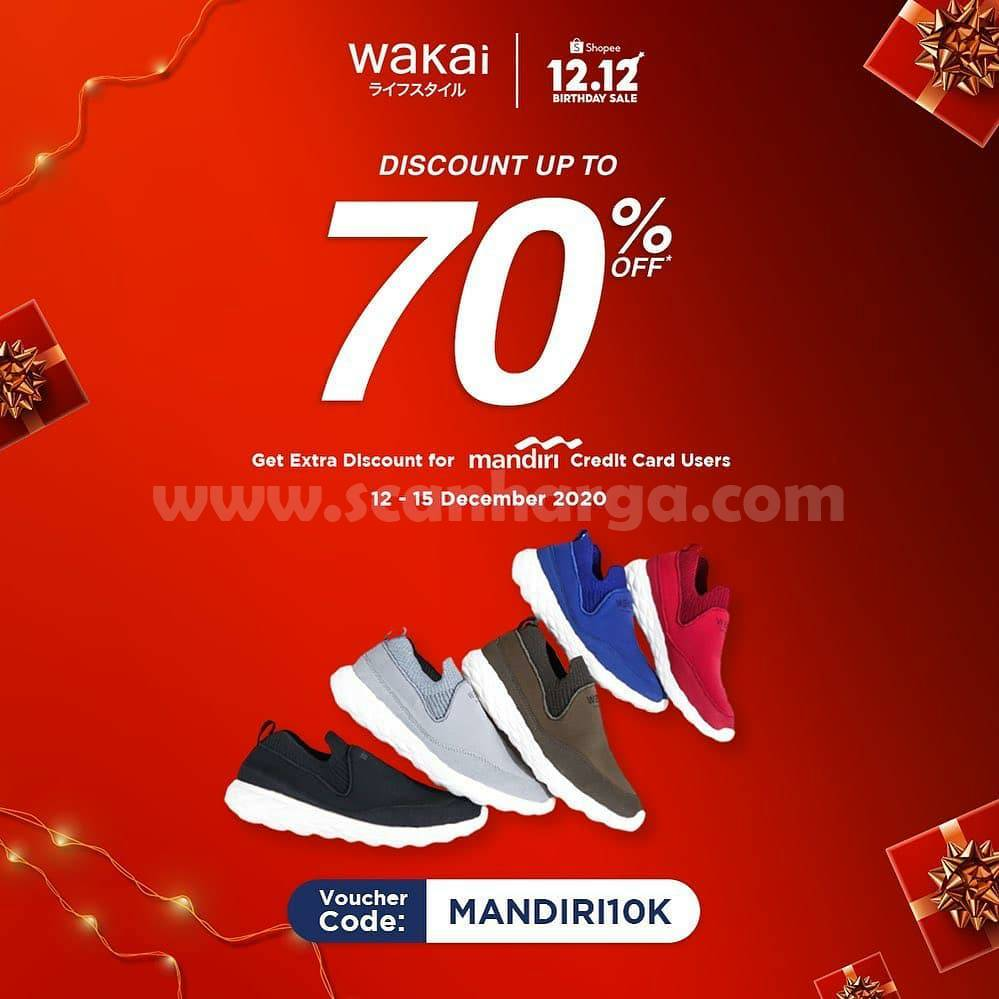 WAKAI Official Store Promo 12.12 – Discount up to 70% Off at Shopee