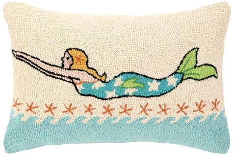 Diving Mermaid Pillow