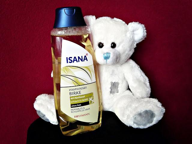 Isana Hair, Birken-Haarwasser - Woda brzozowa do włosów normalnych i z łupieżem