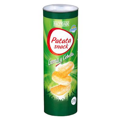 Patata snack crema y cebolla Hacendado