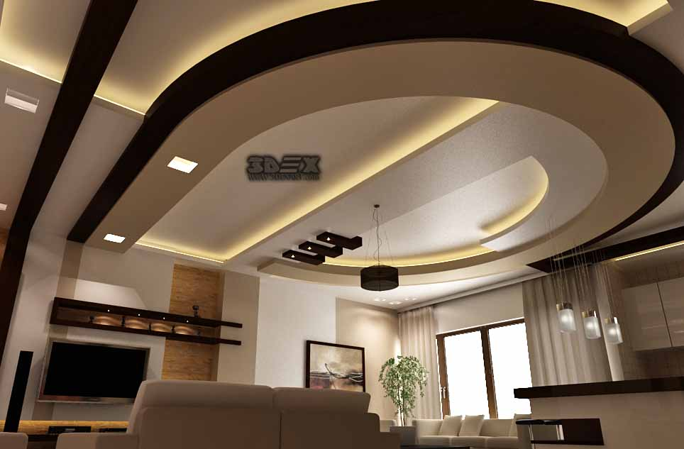 Latest pop design for hall 50 false ceiling designs for - Latest ceiling design for living room ...