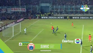 Arema FC vs Persija Jakarta 1-1