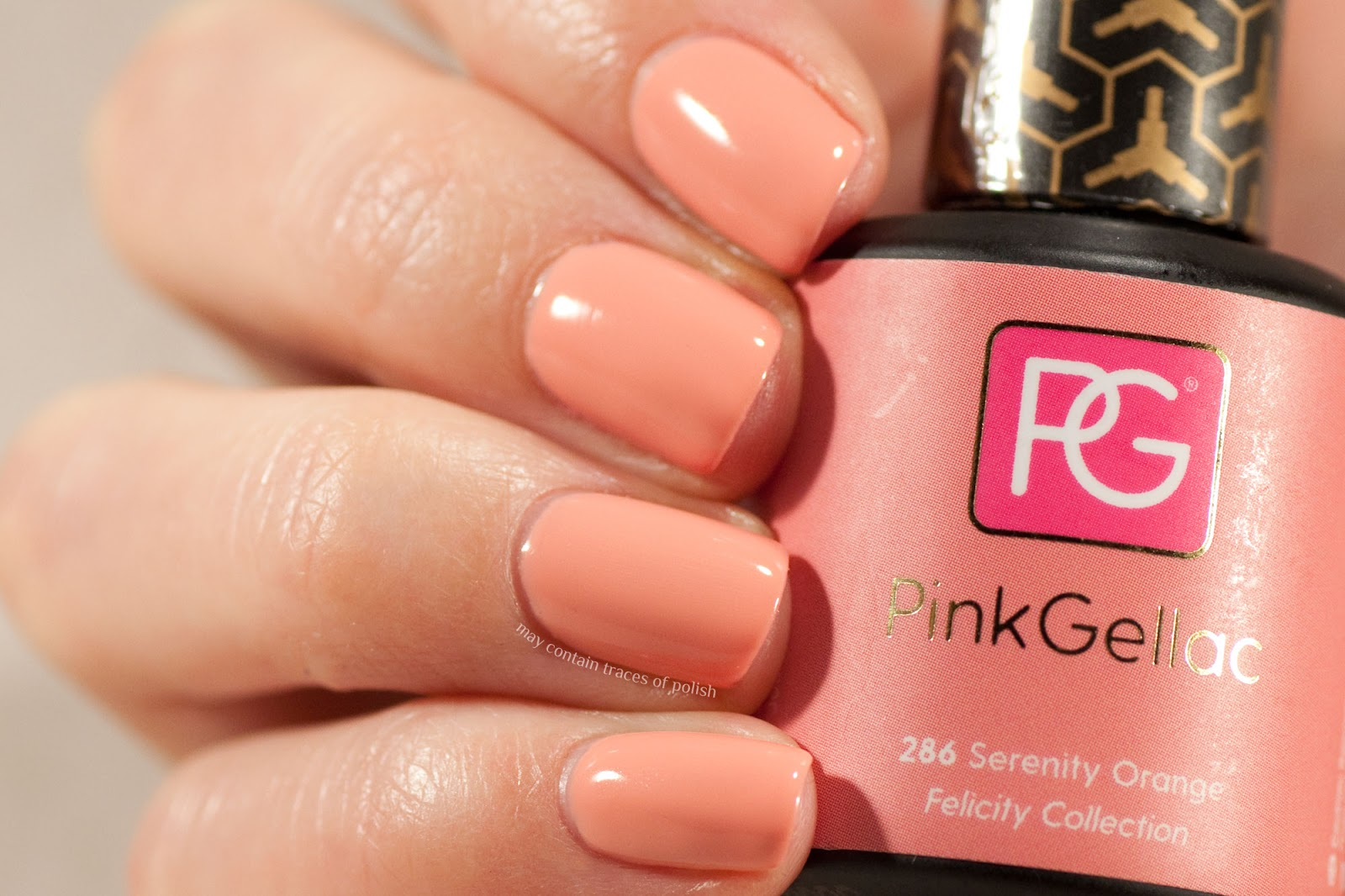 Pink Gellac 286 Serenity Orange Felicity Collection