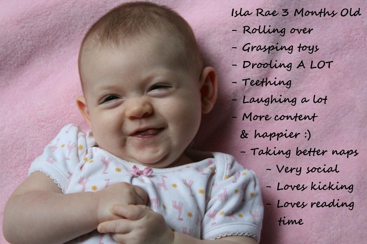 Baby Milestones: 3 Months