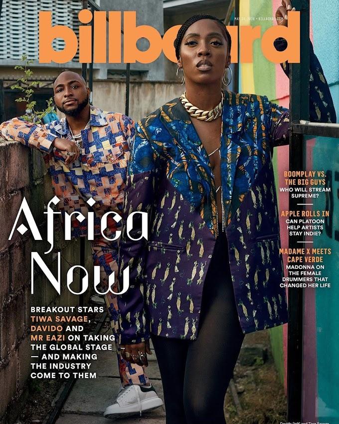Davido, Tiwa Savage & Mr Eazi – A Look at Three of Africa's Biggest Music Stars through the Eyes of Billboard
