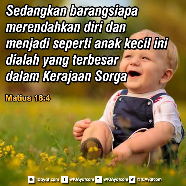 Matius 18:4