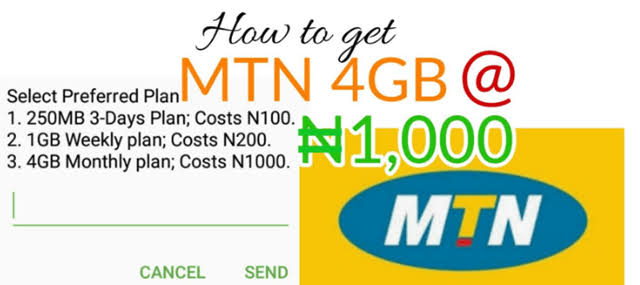 How To Become Eligible For MTN DealZone Data Plan - 1GB For N200 And 4GB For N1000