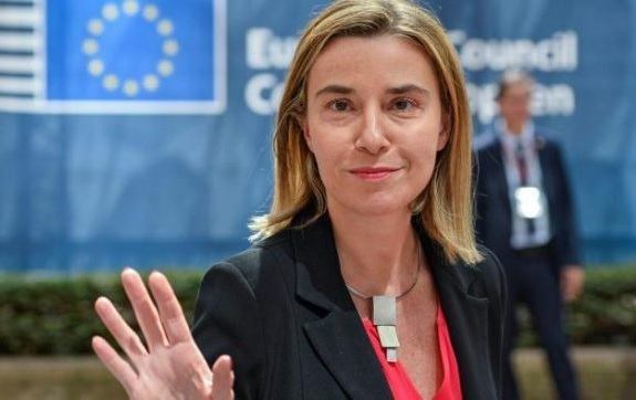Mogherini: The EU will closely monitor the situation in Northern Kosovo