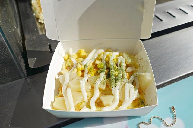一中街商圈素食小吃日式大阪燒素食