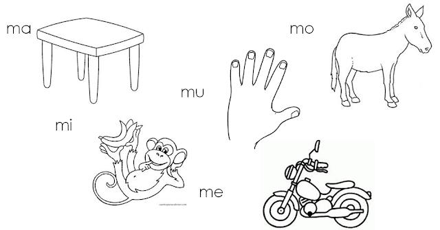 Dibujos Que Empiecen Con Ma Me Mi Mo Mu