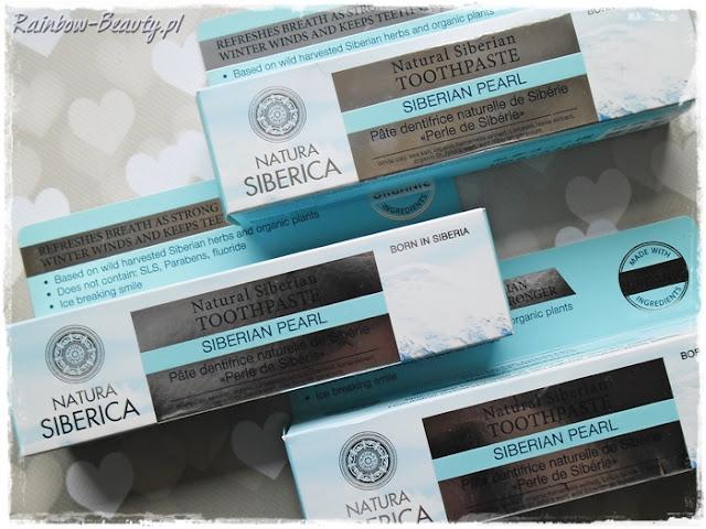 Natural siberian toothpaste Natura siberica blog opinie naturalna pasta syberyjska do wybielania zębów