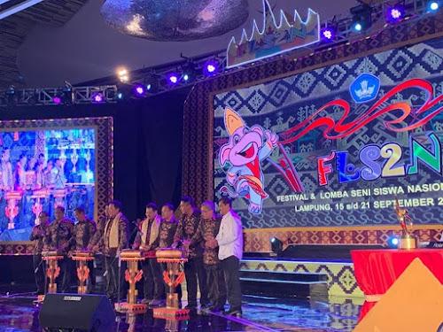 Pembukaan FLS2N 2019 di Lampung