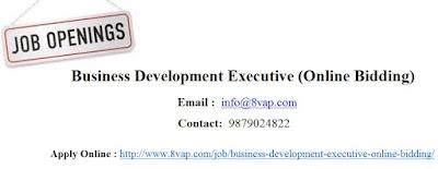 Business Development Executive (Online Bidding)