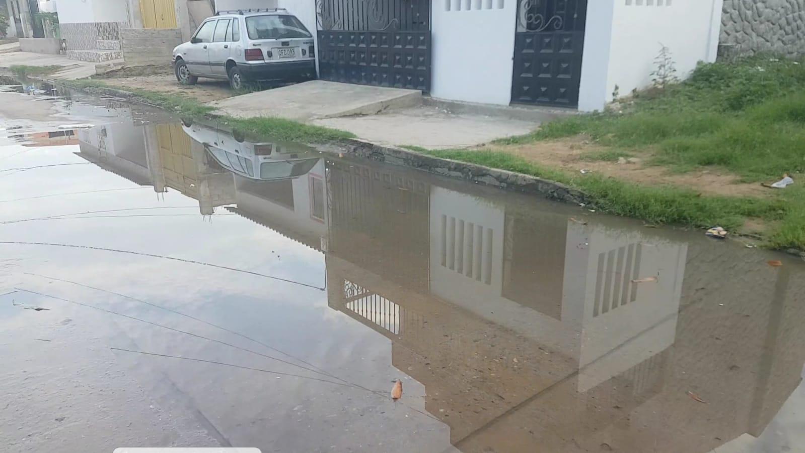 hoyennoticia.com, Barrio Luis Eduardo Cuellar de Riohacha está convertido en una cloaca